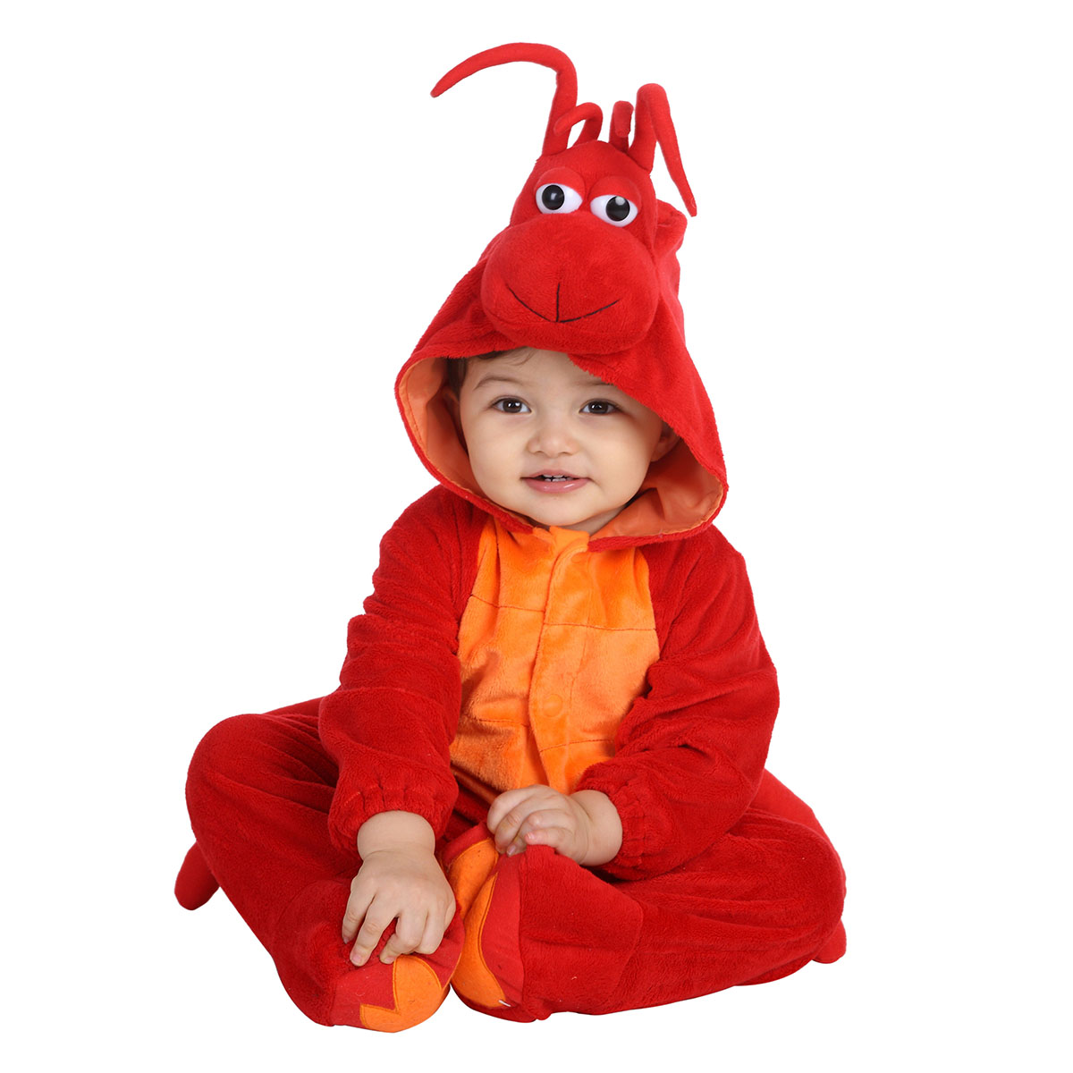kids lobster halloween costume for baby girls and boys