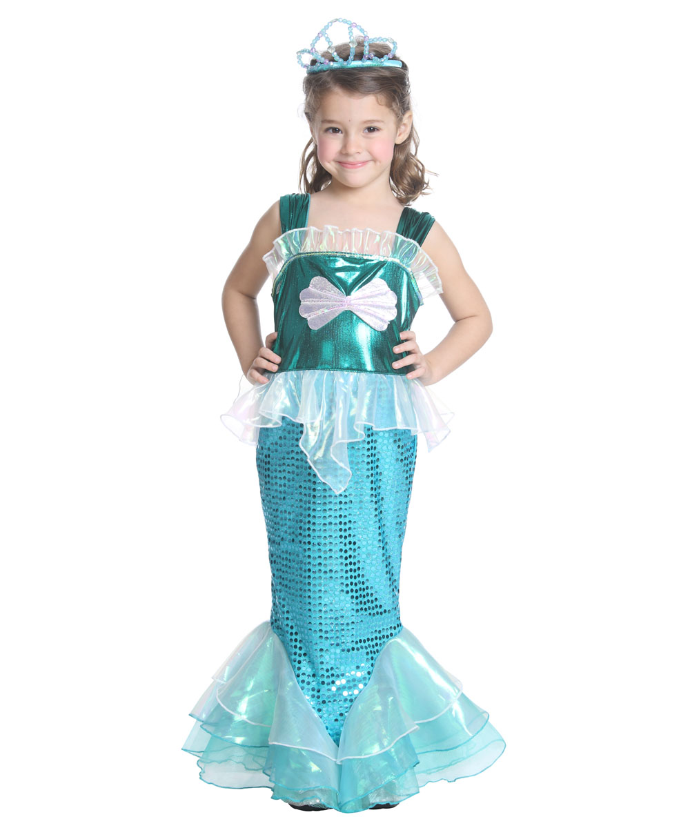little girls mermaid halloween costume mermaid dress