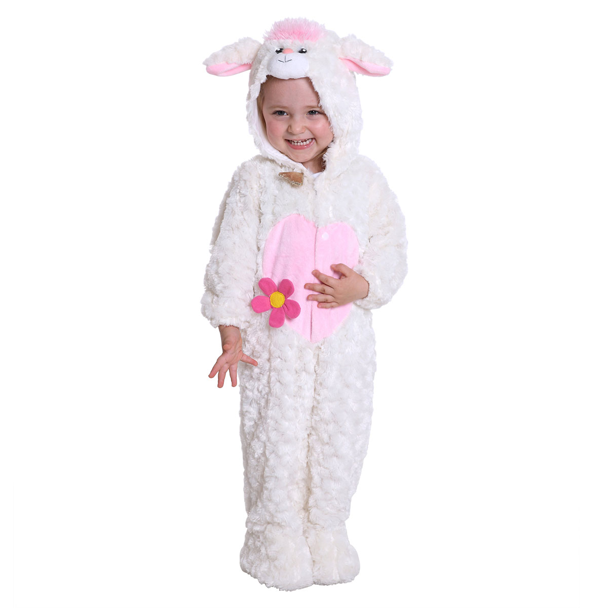 kids lamb halloween costume for baby girls