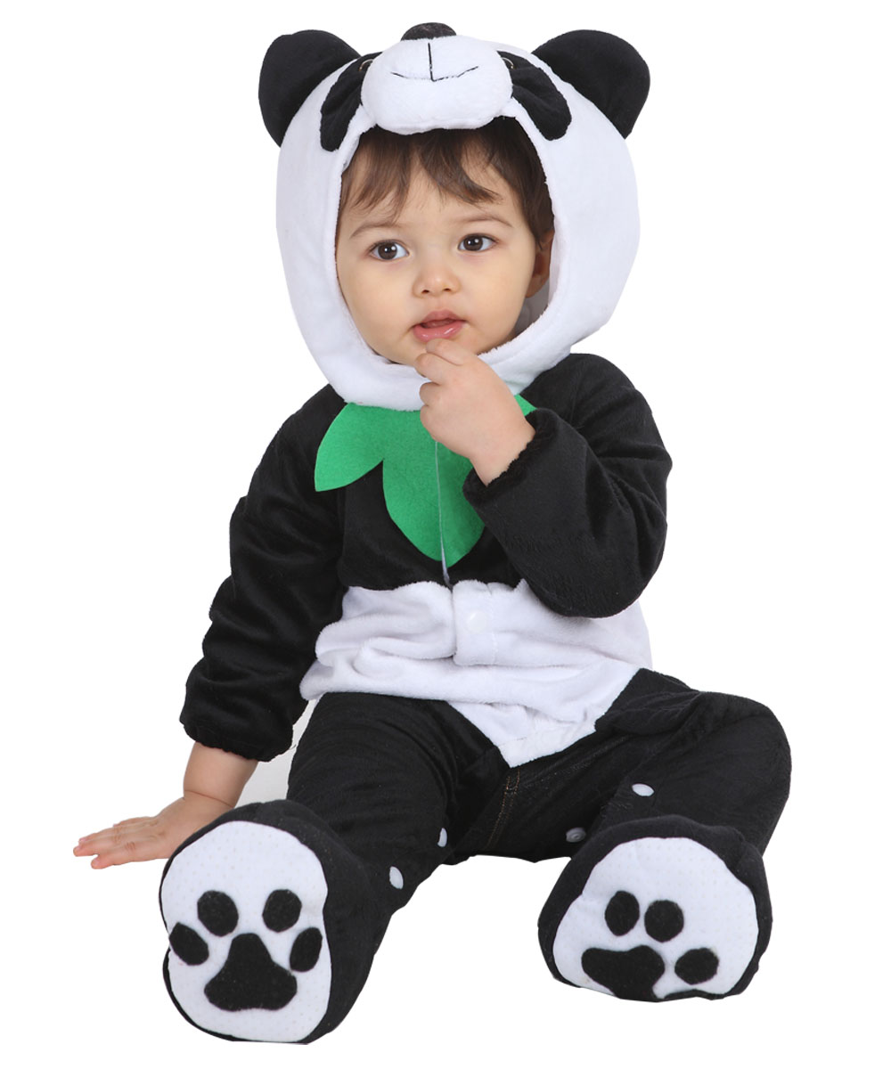 panda halloween costume for kids toddler boys girls
